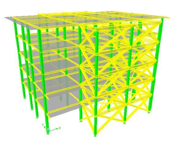 طرح ارزیابی و بهسازی سازه ساختمان بیمارستان