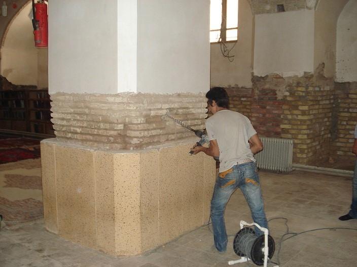 ارزيابي لرزه اي و بهسازي شبستان شمالي مسجد جامع کرمان