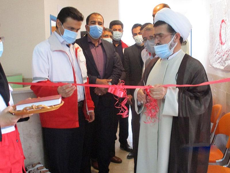 افتتاحیه خانه هلال محله قلاع دختر و درمانگاه امام سجاد