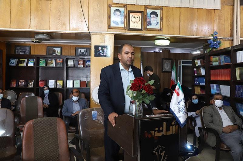 رییس جهاددانشگاهی استان کرمان در مراسم افتتاح فروشگاه کتاب